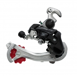 cambio rd-tz400 gs 6/7 vel w/riveted adapter(road)