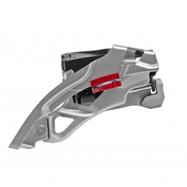 cambiador fd-t4000, alivio, top-swing dual-pull, for rear 9-speed