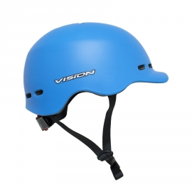 CASCO SKATE VISION CON VISERA Y REGULACION CALIPSO (L) 58-61