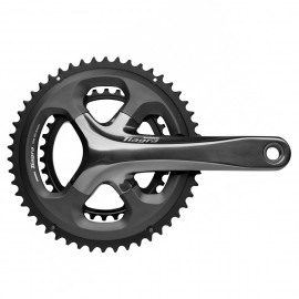 VOLANTE SHIMANO FC-4700 TIAGRA, DOUBLE 175MM 2-PCS FC, FOR REAR 10-SPEED 50X34T W/O BB PARTS, IND.PA
