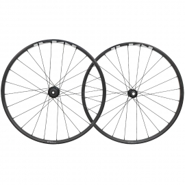RUEDA SHIMANO WH-MT501-B-29,F&R:24H,FOR 12S,F:15/R:12MM E-THRU CLINCHER OLD:110/148MM,BLACK W/GRAY S