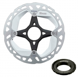 ROTOR FRENO DISCO SHIMANO RT-MT800, S 160MM, W/LOCK RING(INTERNAL SERRATION), IND.PACK IRTMT800SI
