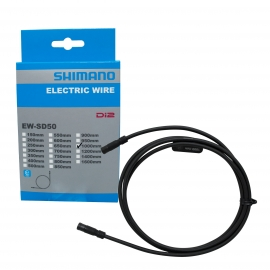 CABLE EL͍‰CTRICO SHIMANO EW-SD50,1000MM BLACK, IND.PACK IEWSD50L100 J