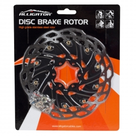 ROTOR CON DISIPACION HEAT DISSIPATION DISC BRAKE ROTOR 160MM HK-R80 ALLIGATOR