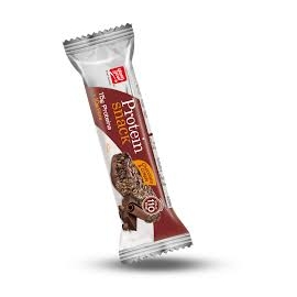 Alimento barra protein snack chocolate & crispies